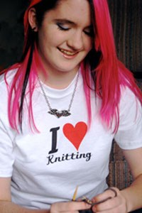 I love KNITTING t-shirts and gifts