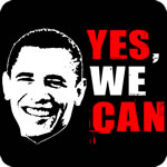 Barack Obama Yes We Can T-Shirt
