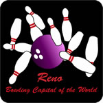 Reno Bowling Capital of the World T-Shirt