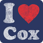 I Love Cox T-Shirt
