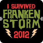 I Survived Frankenstorm Hurricane Sandy 2012