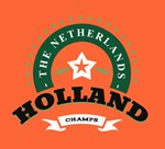 Holland Nederland Retro Badge