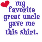 My Uncle Loves Me Because...