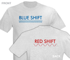 Blue Shift (front) Red Shift (back)