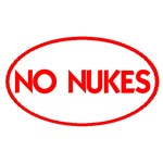 NO NUKES OVAL III & TARGET BIG OIL
