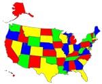 MAP OF AMERICA, TARGET BANK OF AMERICA™