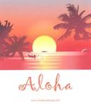 HAWAII SUNSET...ALOHA™
