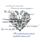 Copy of Twilight- Edward's Heart charm with quotes