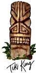 Palm Log Tiki