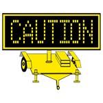 Caution Traffic Sign