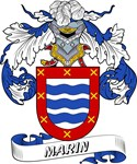 Marin Coat of Arms, Family Crest