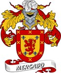 Mercado Coat of Arms, Family Crest