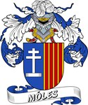 Móles Coat of Arms, Family Crest