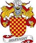 Montagut Coat of Arms, Family Crest