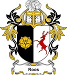 Roos Coat of Arms, Family Crest