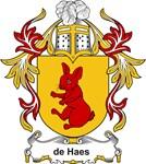 de Haes Coat of Arms, Family Crest