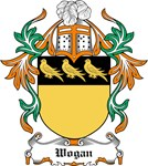 Wogan Coat of Arms, Family Crest