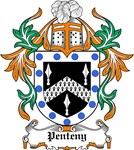 Penteny Coat of Arms, Family Crest