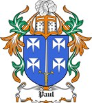 Paul Coat of Arms, Family Crest