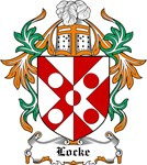 Locke Coat of Arms, Family Crest