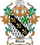 Bland Coat of Arms, Family Crest