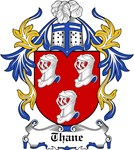 Thane Coat of Arms, Family Crest