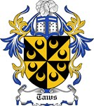 Taws Coat of Arms, Family Crest