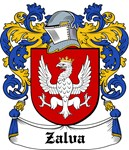Zalva Coat of Arms, Family Crest