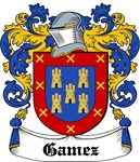 Gamez Coat of Arms, Family Crest