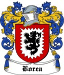 Borea Coat of Arms, Family Crest