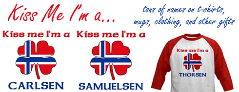 Kiss Me I'm Norwegian