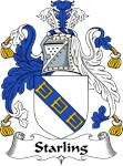 Starling Family Crest