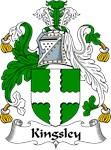Kingsley Family Crest