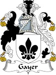 Gayer Family Crest