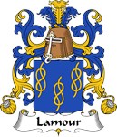 Lamour Family Crest