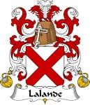 Lalande Family Crest