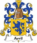 Avril Family Crest