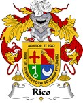 Rico Family Crest