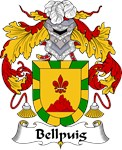 Bellpuig Family Crest
