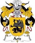 Aoiz Family Crest