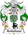 Antunano Family Crest
