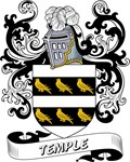 Temple Coat of Arms