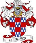 Quinones Family Crest / Quinones Coat of Arms