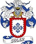 Soler Family Crest / Soler Coat of Arms