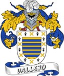 Vallejo Family Crest / Vallejo Coat of Arms