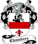 Chambers Family Crest, Coat of Arms