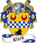 Clerk Family Crest, Coat of Arms