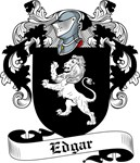 Edgar Family Crest, Coat of Arms