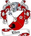 Elles Family Crest, Coat of Arms