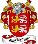 MacBrayne Family Crest, Coat of Arms
